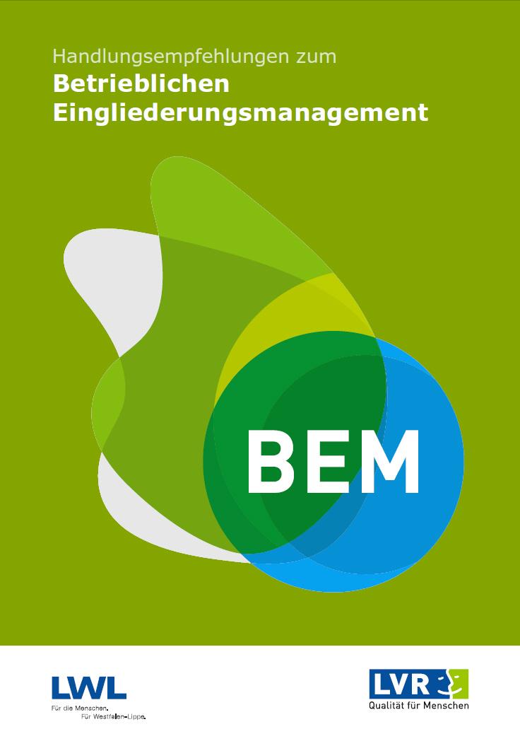 a-Handlungsempfehlungen zum Betrieblichen Eingliederungsmanagement - Neuauflage 2015