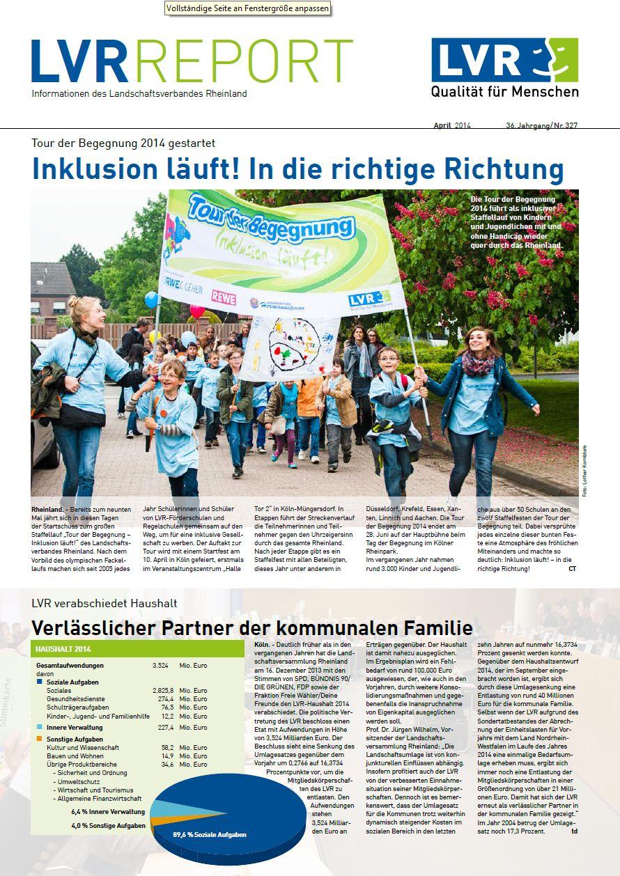 LVR-Report April 2014
