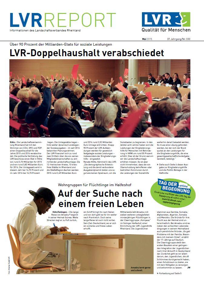 LVR-Report Mai 2015