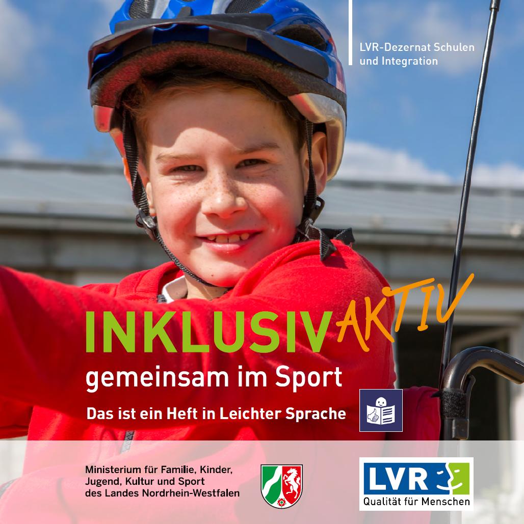 Inklusiv aktiv - gemeinsam im Sport - Leichte Sprache