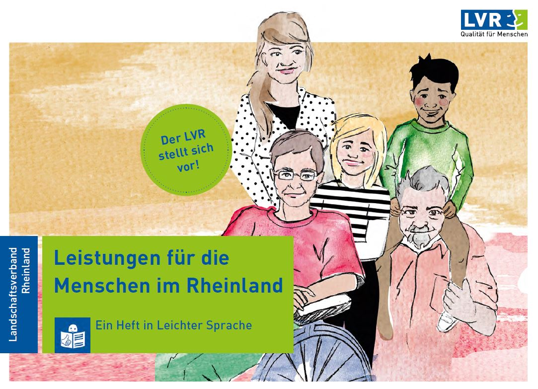 Leistungen für die Menschen im Rheinland - Leichte Sprache