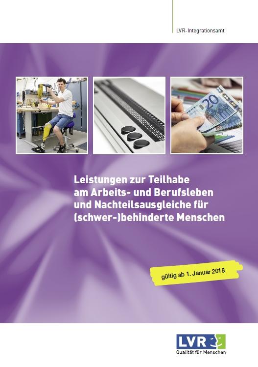 Leistungen zur Teilhabe am Arbeits- und Berufsleben für (schwer-)behinderte Menschen