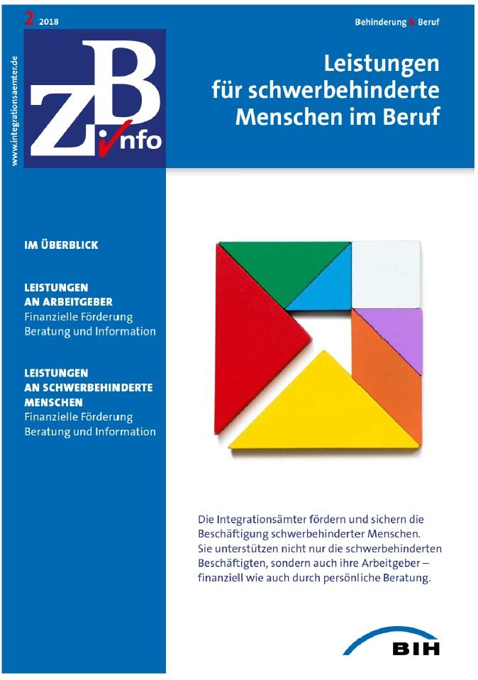 ZB Info - Leistungen für schwerbehinderte Menschen im Beruf