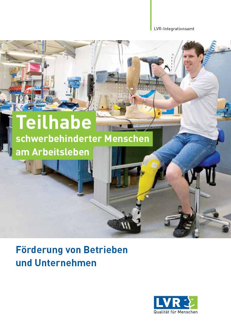 Teilhabe schwerbehinderter Menschen am Arbeitsleben