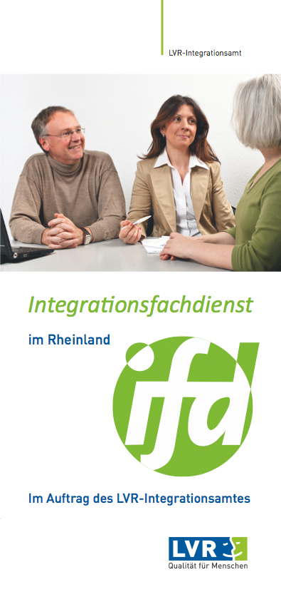Info-Flyer Integrationsfachdienst im Rheinland