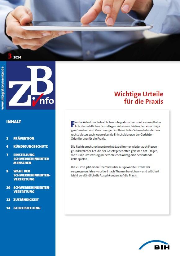ZB Info - Wichtige Urteile für die Praxis (2014)
