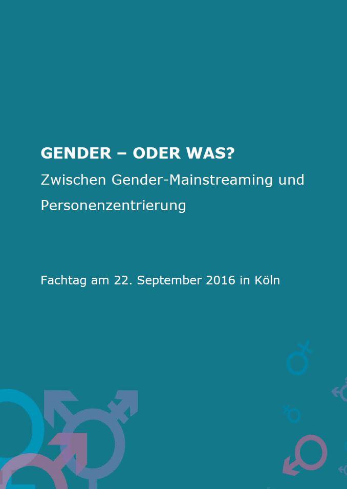 Gender - oder was?
