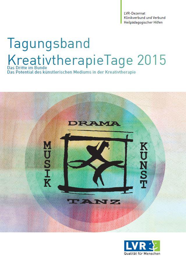 Tagungsband KreativtherapieTage 2015