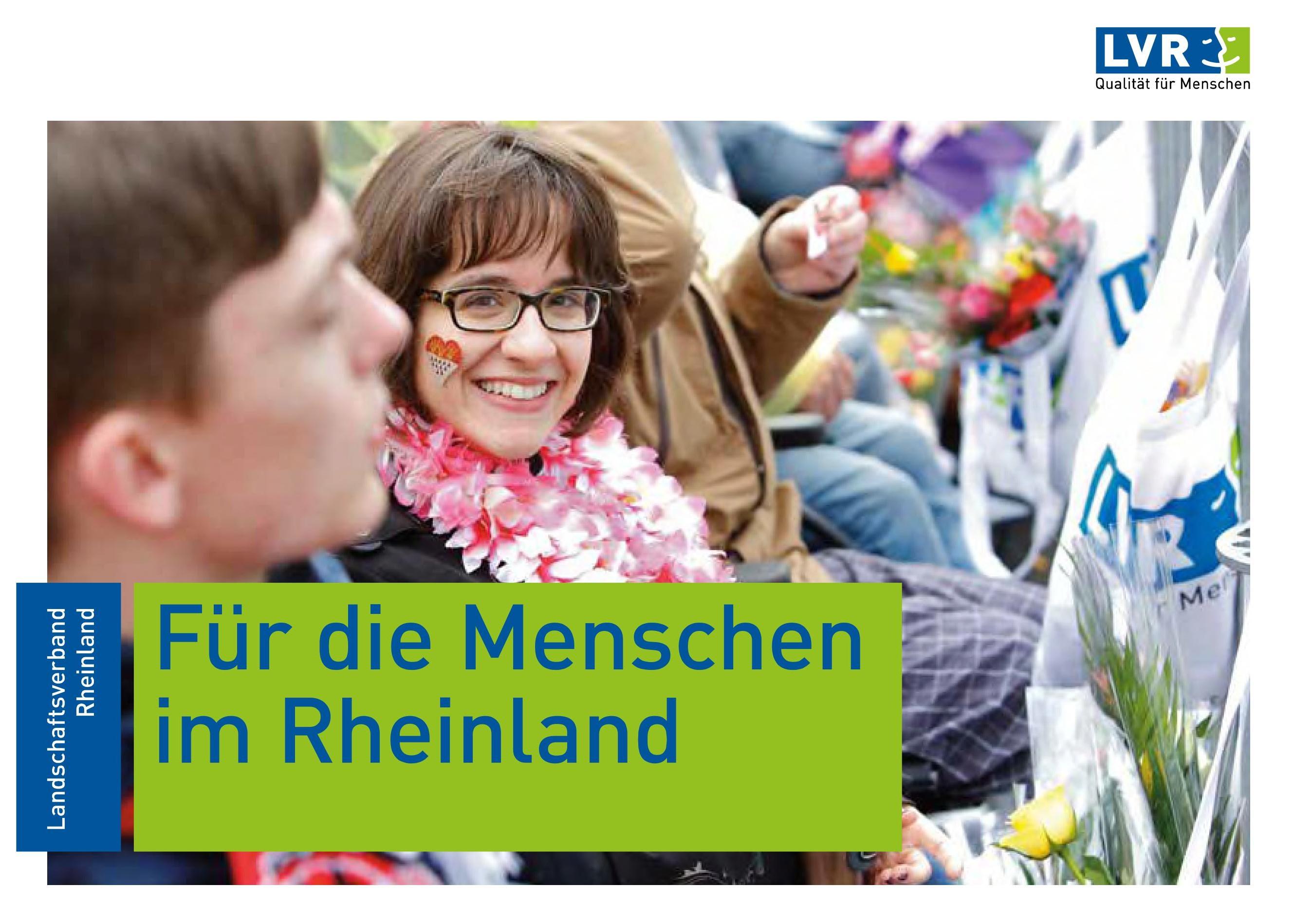 Für die Menschen im Rheinland - LVR-Image-Broschüre