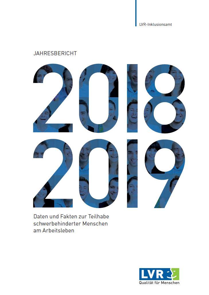 Jahresbericht des LVR-Inklusionsamtes 2018/2019