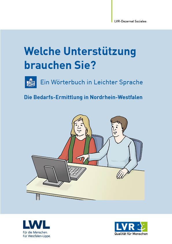Wörterbuch in Leichter Sprache zur Bedarfsermittlung in NRW