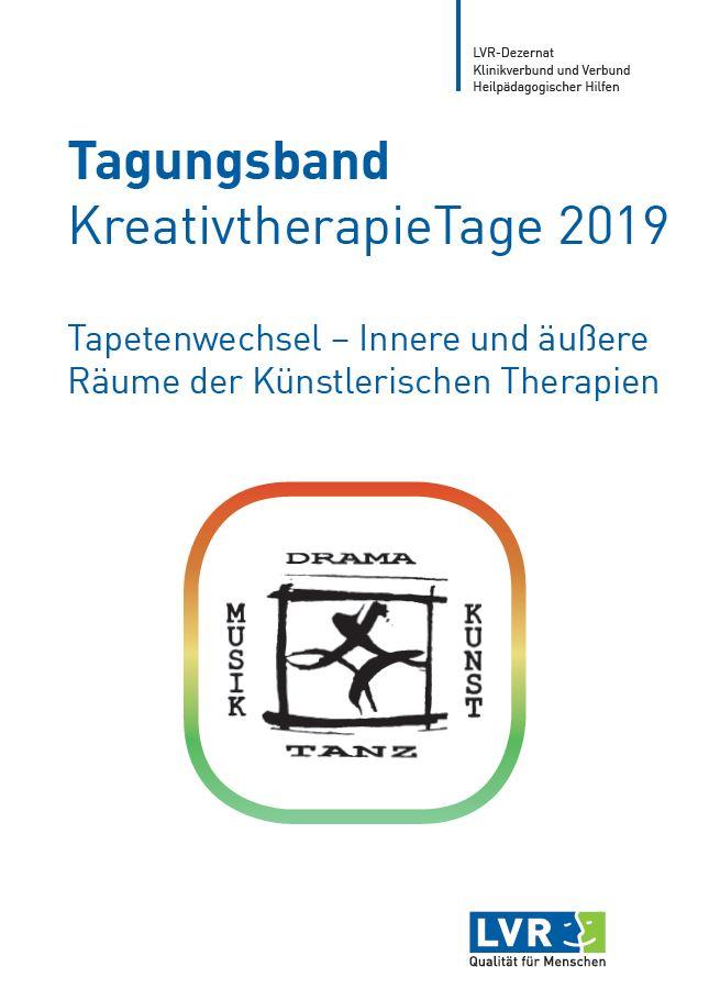 Tagungsband KreativtherapieTage 2019